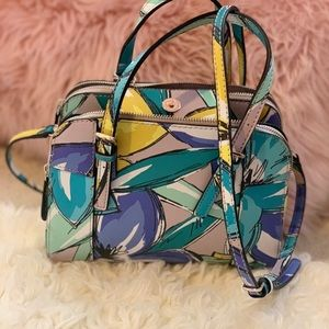 A floral guess Cross body bag